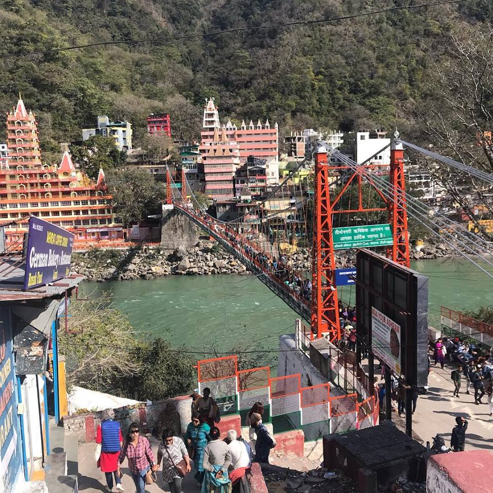 Laxman jhula Photo By Olga Burdina